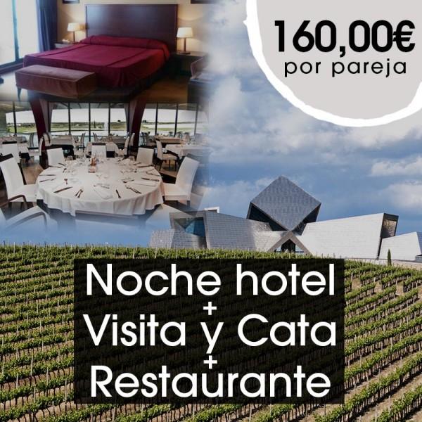 Noche de hotel + Visita y Cata + Restaurante