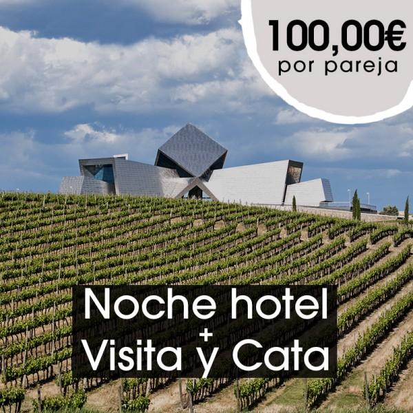 Noche de hotel + Visita y Cata