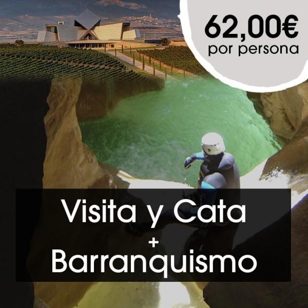 Visita y  Cata + Barranquismo