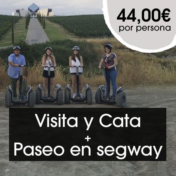 Visita y cata + Paseo en segway