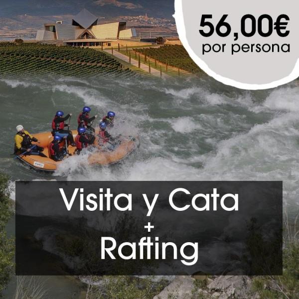Visita y Cata + Rafting