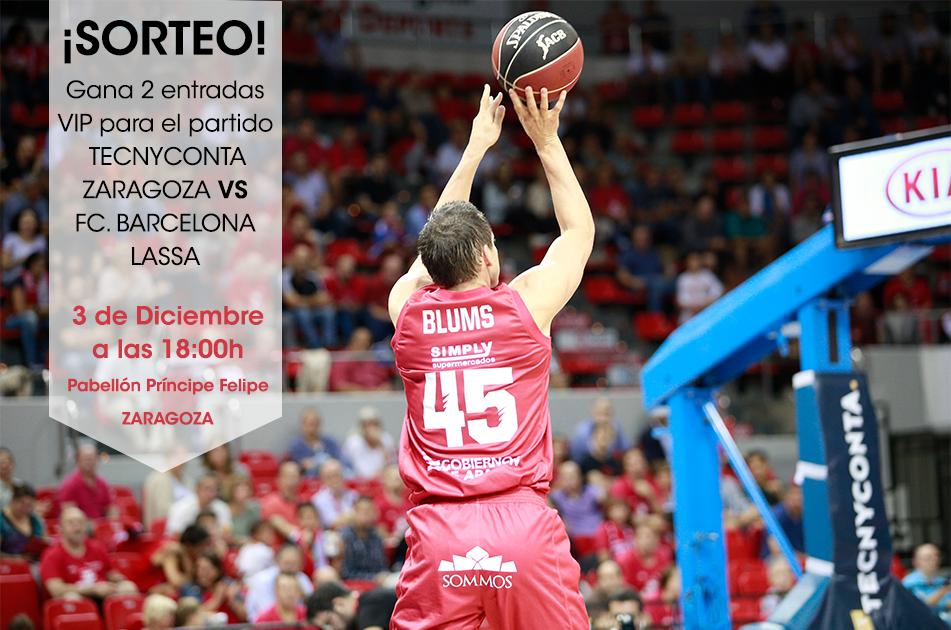 SORTEO entradas VIP Basket Zaragoza en Facebook