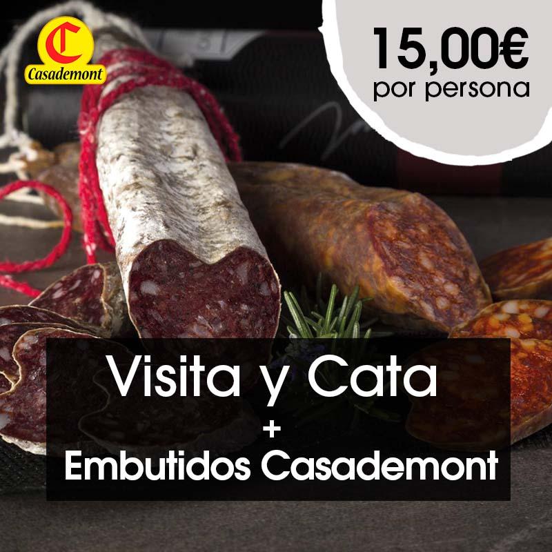 Visita a Bodega SOMMOS y cata maridaje con productos de Embutidos Casademont