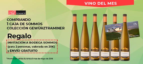 Sommos Colección Gewürztraminer vino del mes